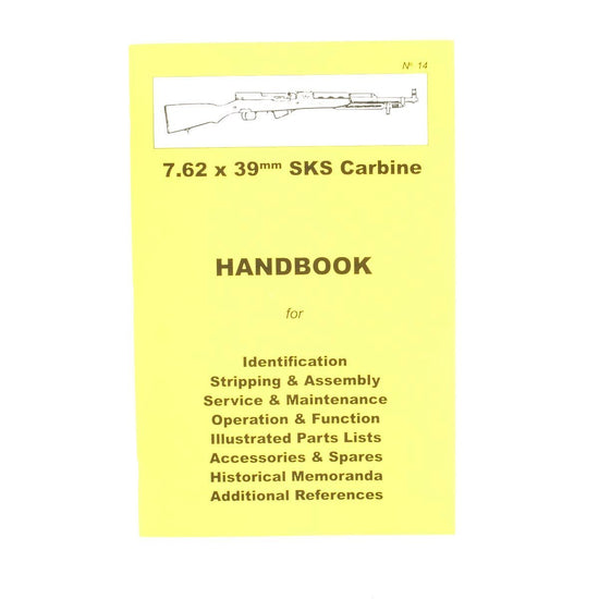 Handbook: 7.62 x 39mm SKS Carbine New Made Items