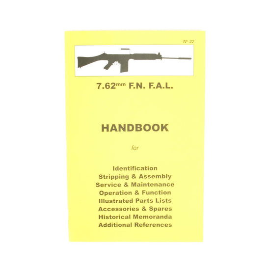 Handbook: 7.62mm F.N. F.A.L. New Made Items
