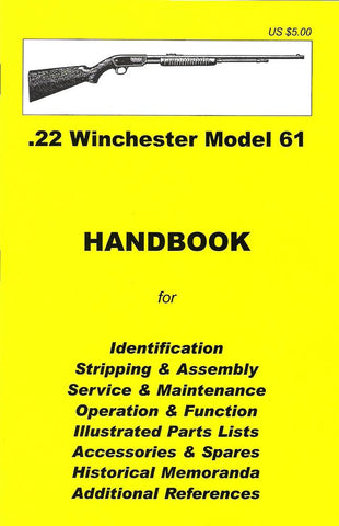 Handbook: WINCHESTER .22 MODEL 61 New Made Items