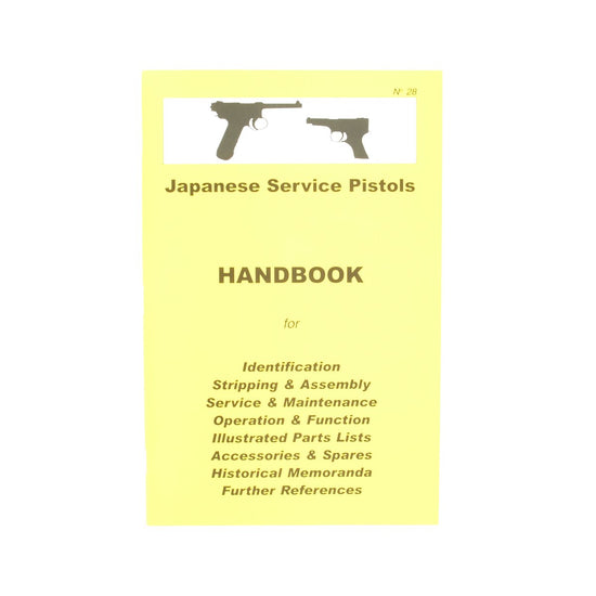 Handbook: JAPANESE SERVICE PISTOLS New Made Items