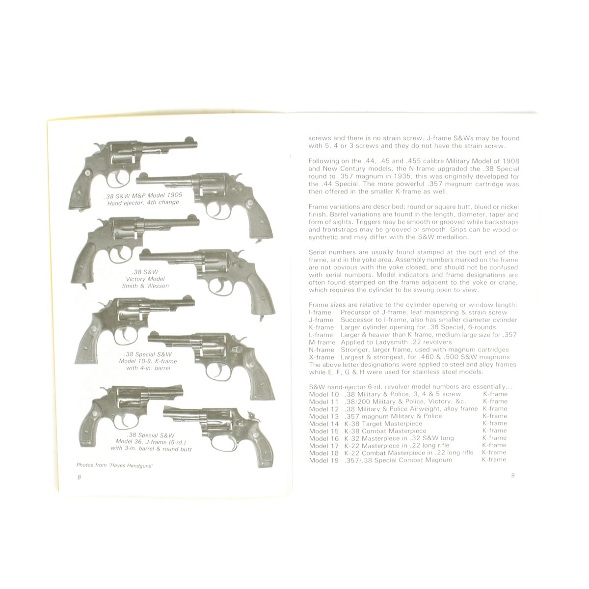 Handbook: SMITH & WESSON REVOLVER