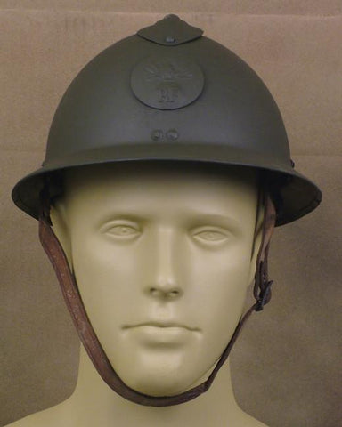French Adrian M-26 Steel Helmet: Original WWII