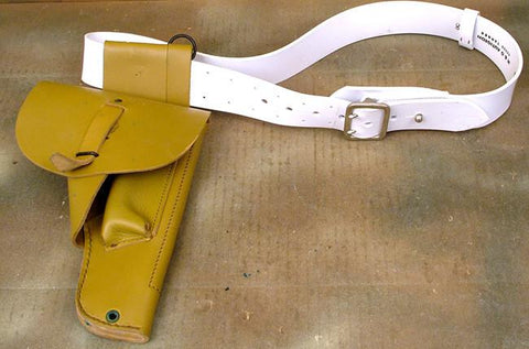 French Foreign Legion Holster with White Belt