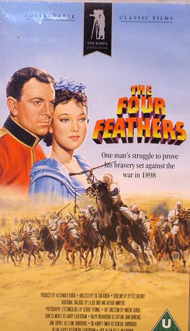 Film: THE FOUR FEATHERS (KORDA VERSION) VHS