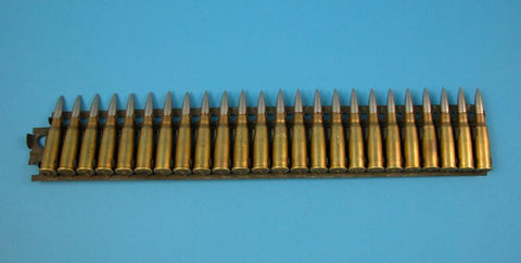 Lebel Dummy Cartridges in 24-Rd Feed Strip