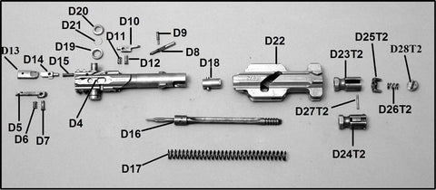 MG 34 Extractor Lever (Lower Pressure Piece): D14