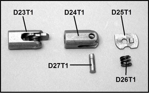 MG 34 Firing Pin Nut, Complete, Type 1: D23T1