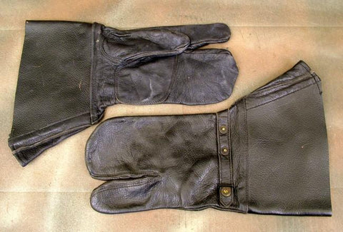 Swedish Sniper Mittens: WWII Era (German Style): Pair
