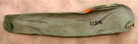 U.S. M1 Garand Rifle Carry Case Bag - Marked U.S.N.