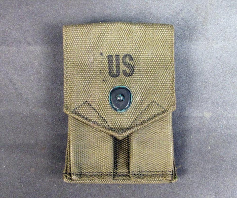 U.S. M-1956 Pattern .45 Double Magazine Belt Pouch