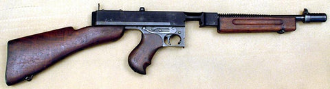 Original WW2 Thompson M1928A1 Display Machine Gun Original Items