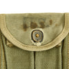 show larger image of product view 26 : Original U.S. WWII M1 Carbine Butt Magazine Pouch- WW2 Dated Original Items