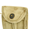 show larger image of product view 29 : Original U.S. WWII M1 Carbine Butt Magazine Pouch- WW2 Dated Original Items