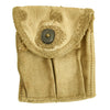 show larger image of product view 1 : Original U.S. WWII M1 Carbine Butt Magazine Pouch- WW2 Dated Original Items