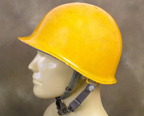 U.S. WWII Type Orange M1 Steel Helmet Original Items