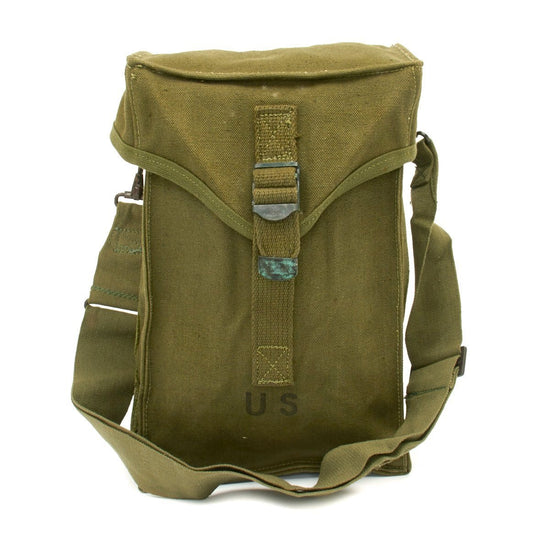 Original U.S. WWII Type Bag Carrying Ammunition M1 - Dated 1951