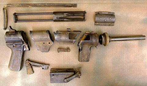 Original U.S. M3 Grease Gun Parts Set