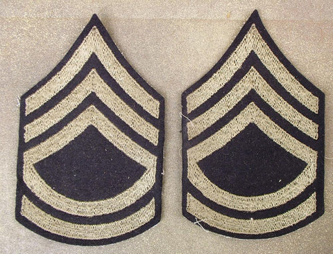 U.S. Original WW2 Sergeant Chevrons: Technical Sergeant (Pair)