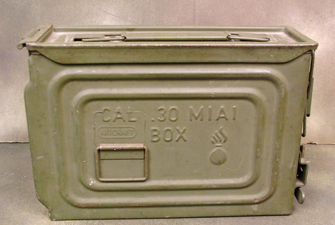 U.S. WW2 M1A1 Ammunition Box (One Only)
