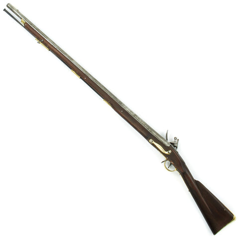 Original British EIC P-1771 Brown Bess Flintlock Musket- Nepalese Gurkha Marked Lock Original Items
