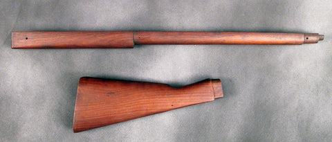 British Martini-Henry MKII Original Replacement Stock Set: NOS Original Items