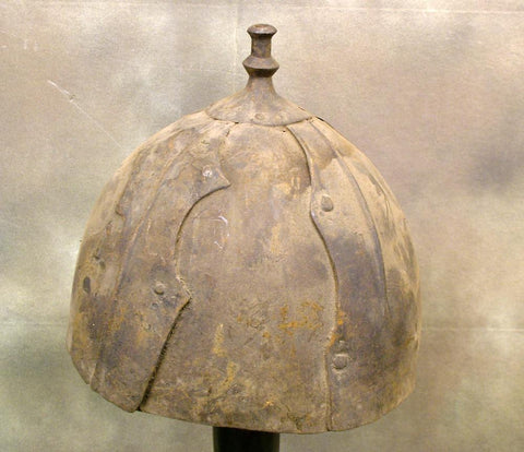 Tibetan War Helmet: Estimated Circa 1600-1700! (one only)