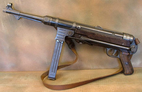 German MP 40 WWII Display Machine Pistol: Rare