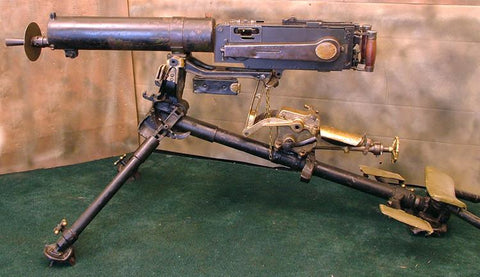 Chinese M-1924 Maxim Display MG With Rare Tripod