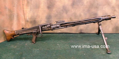 MG 42 Display Light Machine Gun: One of our Last! Original Items