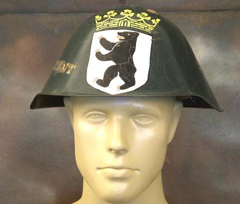 East German Helmet: Original Cold War Memorabilia