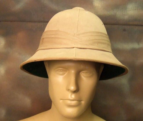 British WW2 Dated Woolsey Pith Helmet: One Only Original Items