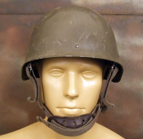 French Commando & Paratrooper Helmet: Circa 1980: One Only