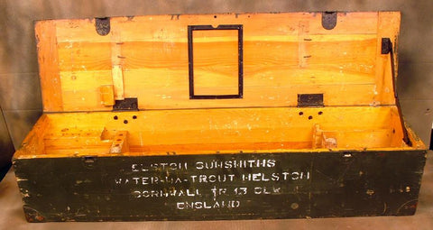 German MG 15 Air-Cooled Wood Transit Chest: WWII (One Only)