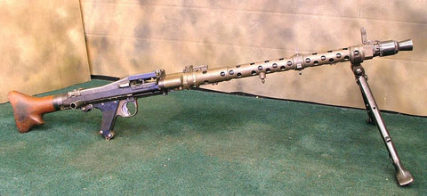 MG 34 Display Light Machine Gun: Dated 1945 (One Only)