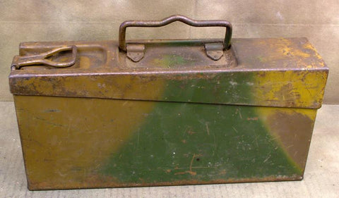 MG 34 Armorer?s Tool Case: Original Paint: One Only