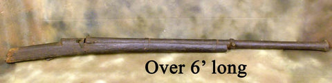 Ancient Matchlock Wall Gun: Circa 1600 (One Only) Original Items