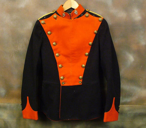British Trooper Tunic of Royal Irish 5th Lancers: Circa 1900 (One Only)