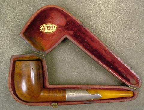 English Police Superintendent?s Sliver Mounted Pipe: 1890 (One Only)