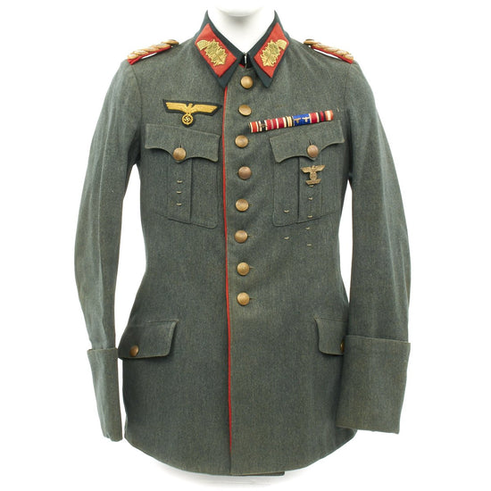 Original German WWII Heer General Tunic - Generalmajor Dienstbluse