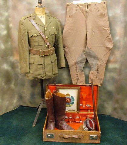 British WW2 Uniform Set of the Vainest Officer in the Army? (One Only) Original Items