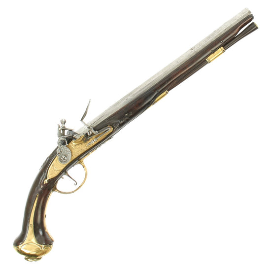 Original Dutch Flintlock Pistol by Penterman Circa 1720 - As Seen on History Channel Pawn Stars