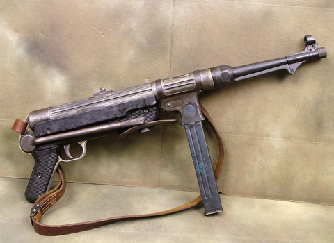 German MP 38 Display SMG: Very Rare (One Only)