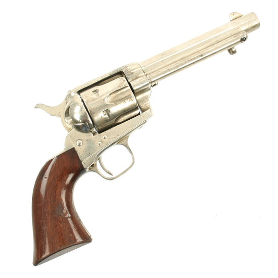 Original Zulu Wars Named Colt Single Action Army Revolver in .45 Boxer Made in 1876 - Serial 24799