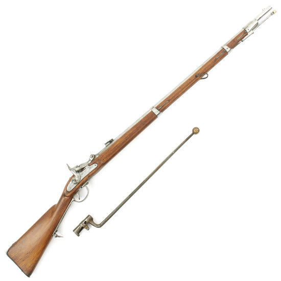 Original Austro-Hungarian Model 1854/67 Wänzl Lorenz Breech-Loading Rifle with Practice Bayonet