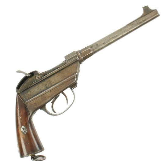 "Original Rare Bavarian M-1869 Werder Single Shot ""Bavarian Lightning"" Pistol in 11.5mm - Serial 59"