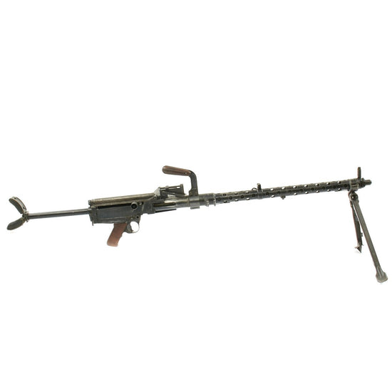Original German WWII MG 13 Display Light Machine Gun with Magazine - Maschinengewehr 13