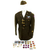 show larger image of product view 4 : Original U.S. WWII 30th Infantry Division Battle of the Bulge Silver Star Grouping Original Items