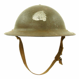 Original U.S. WWII M1917A1 Kelly Helmet with Textured Paint