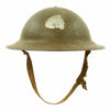 show larger image of product view 1 : Original U.S. WWII M1917A1 Kelly Helmet with Textured Paint Original Items