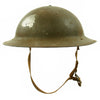 show larger image of product view 2 : Original U.S. WWII M1917A1 Kelly Helmet with Textured Paint Original Items